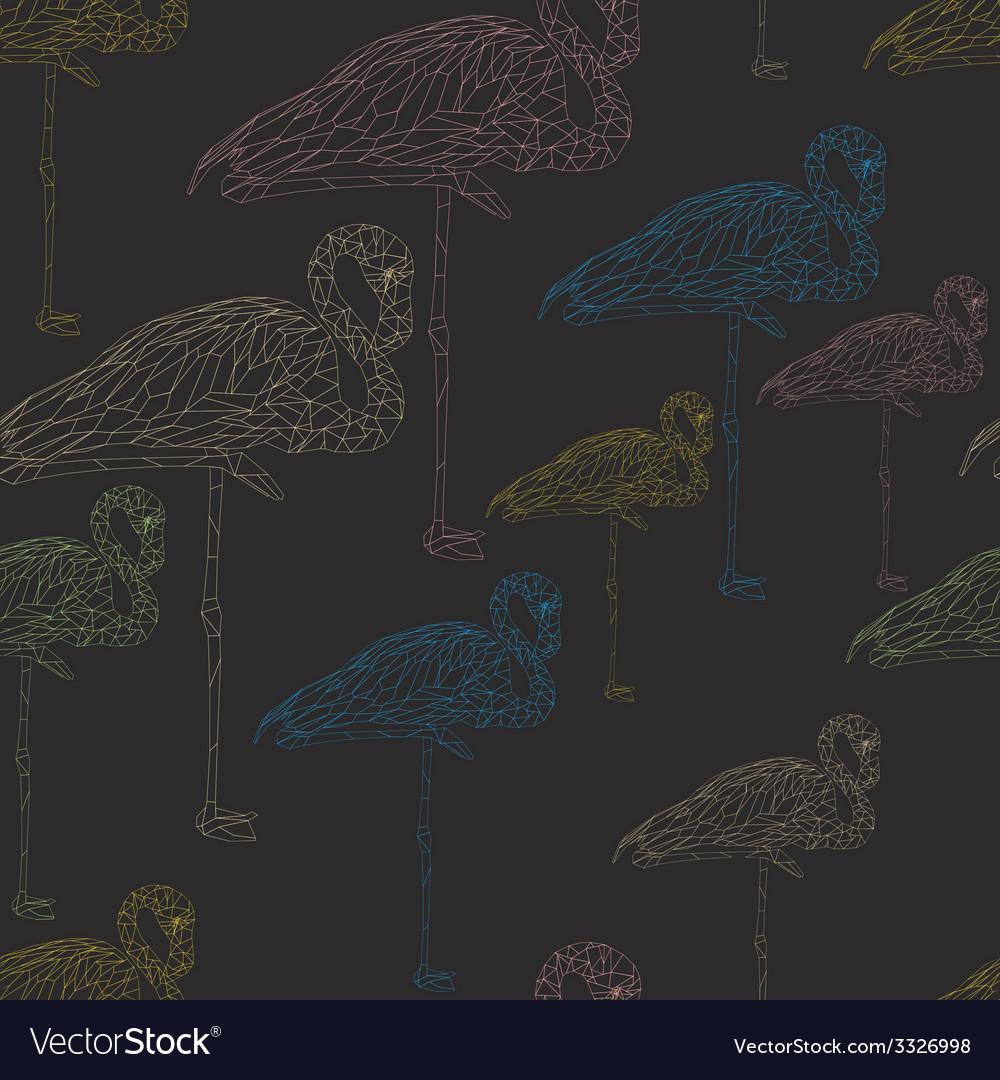 Flamingostand16 vector | Price: 1 Credit (USD $1)
