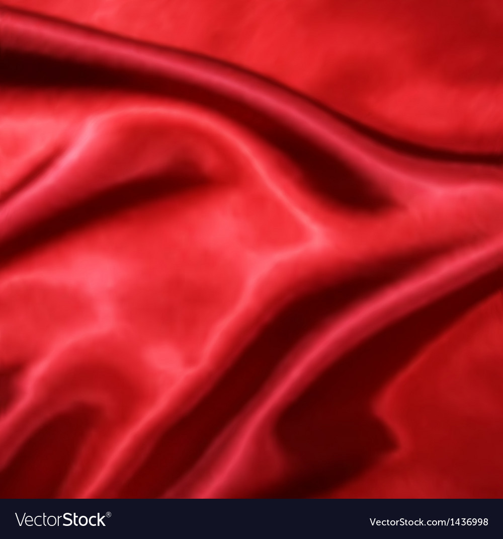 Red silk fabric texture vector | Price: 1 Credit (USD $1)