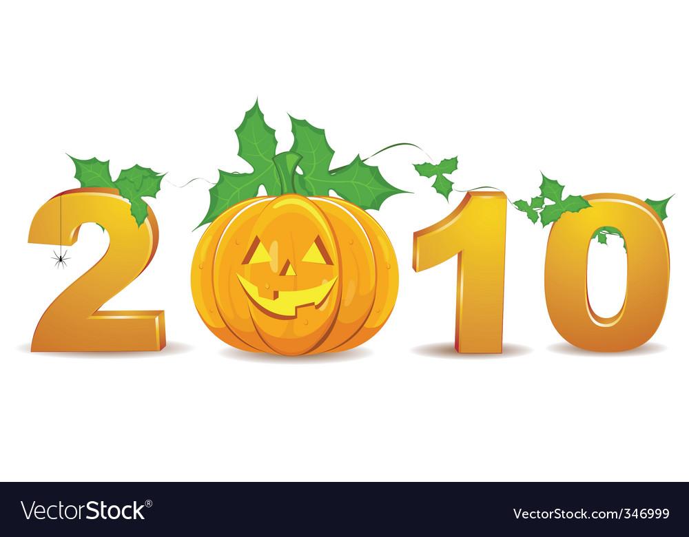 2010 halloween vector | Price: 1 Credit (USD $1)