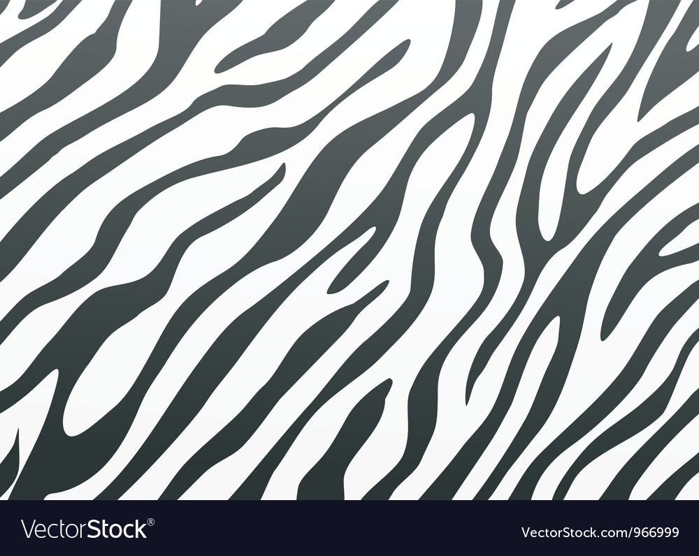 Backgrounds zebra skin vector
