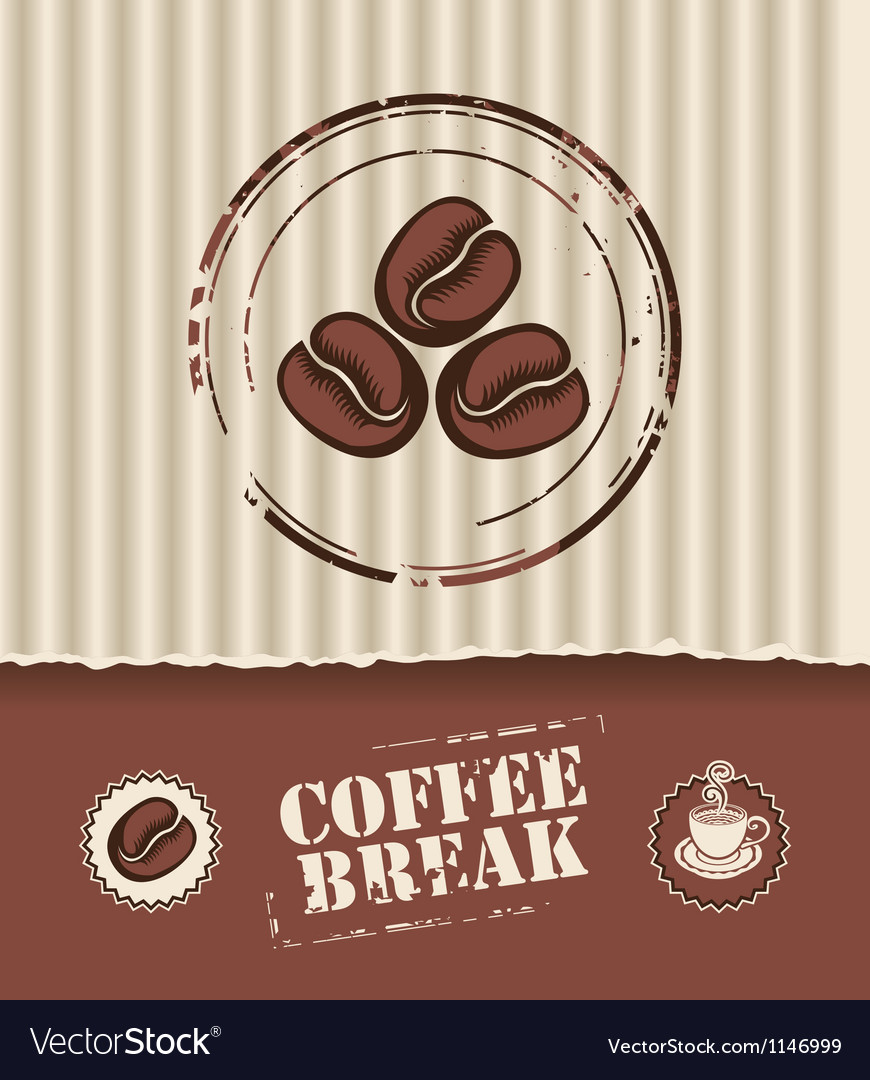 Coffee board vector | Price: 1 Credit (USD $1)