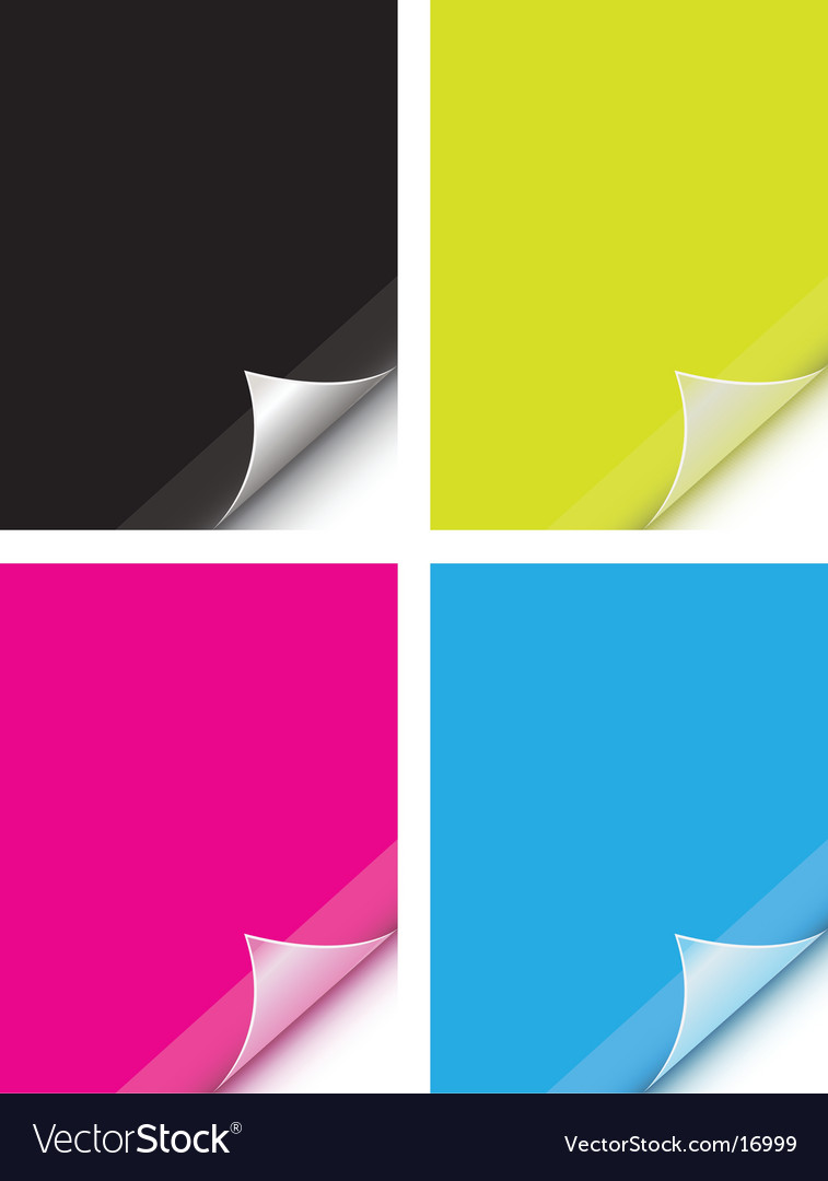 Color stickies vector | Price: 1 Credit (USD $1)