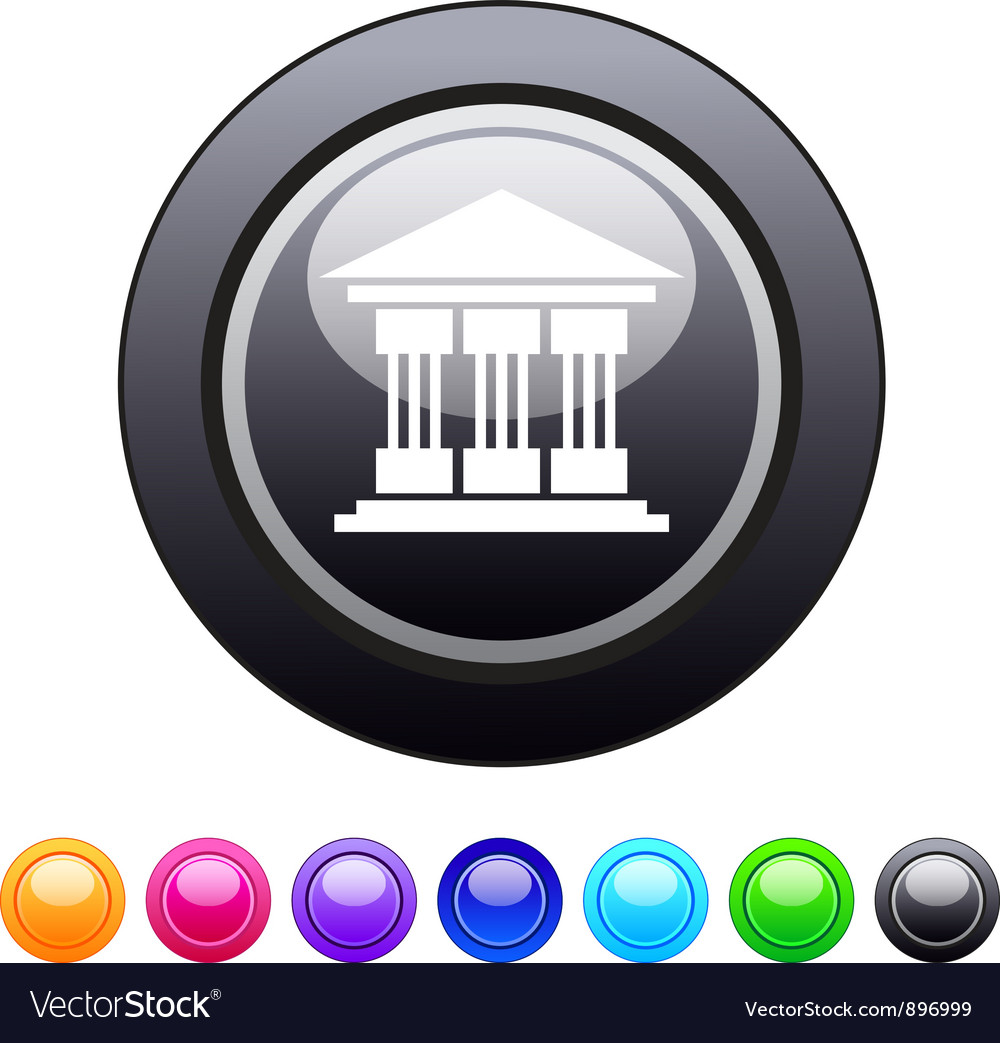 Exchange circle button vector | Price: 1 Credit (USD $1)