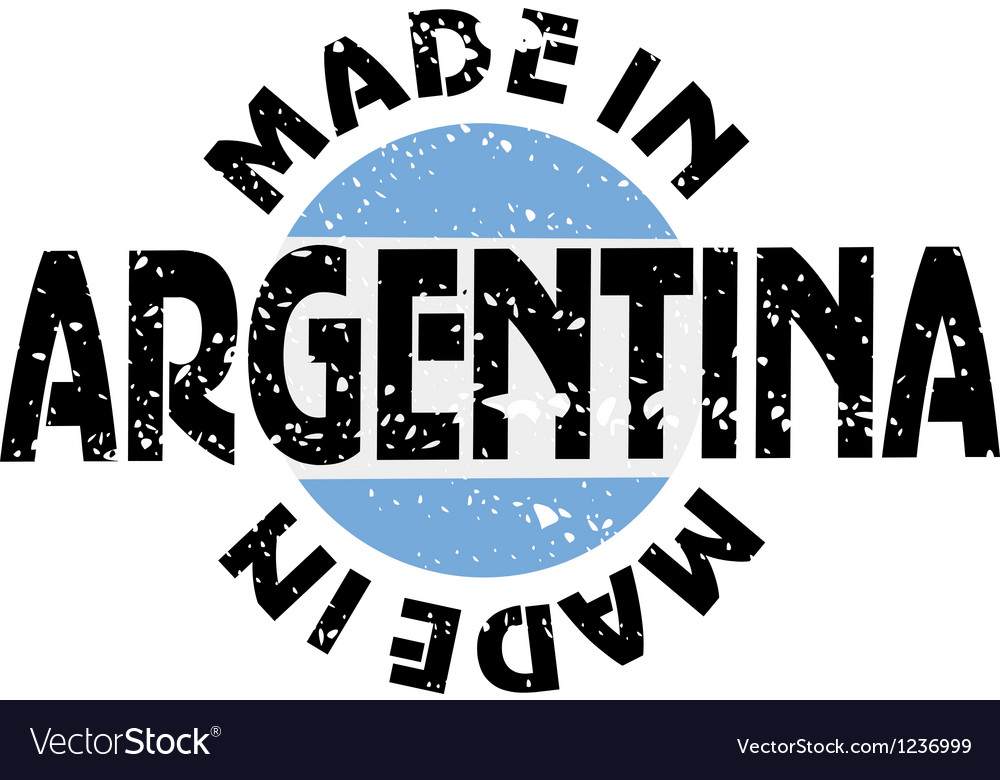 Made in argentina vector | Price: 1 Credit (USD $1)