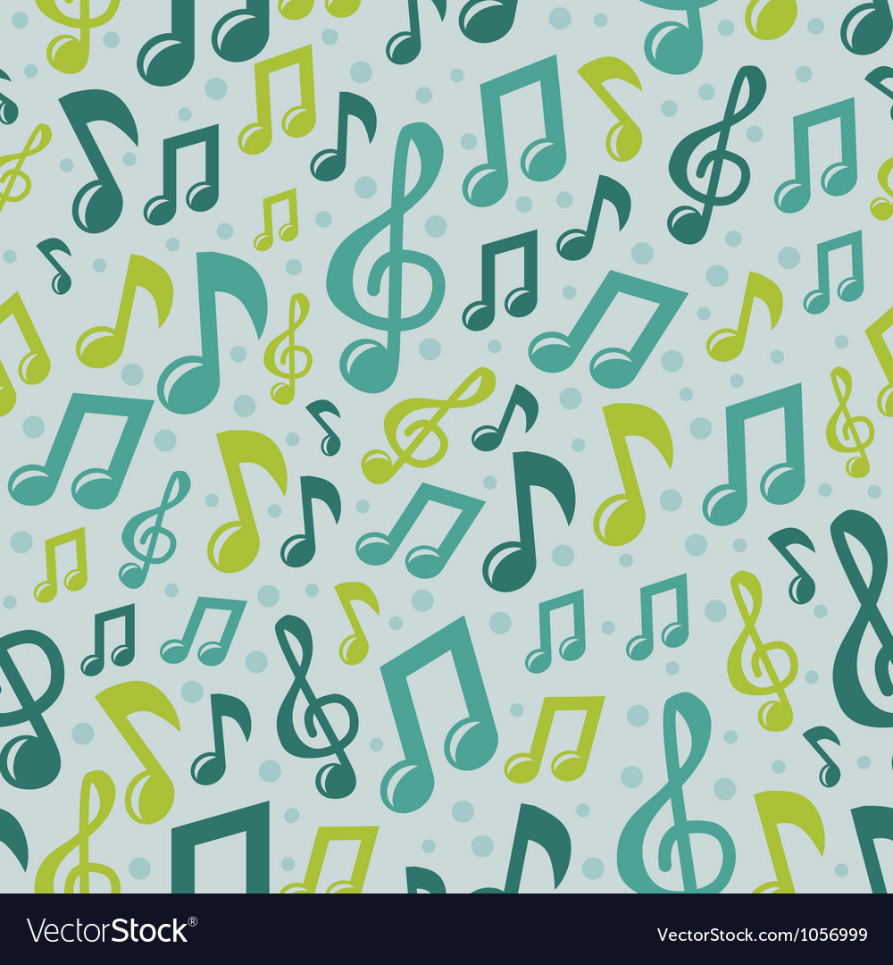 Music seamless pattern with icons vector   Price: 1 Credit (USD $1)