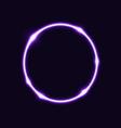 Violet circle effect background vector