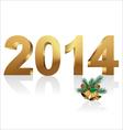 New year 2014 vector