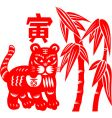Chinese new year tiger vector