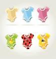 Babies clothes vector