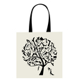 Shopping bag design vector