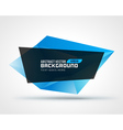 Abstract geometric low-poly banner background vector