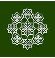 3d flower pattern in arabic style vector