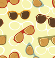 Fashion glasses pattern vector