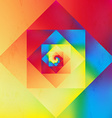 Vibrant optic art geometric pattern vector