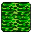 Camouflage button vector