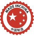 Made in china rubber stamp 04 vector