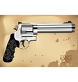 Revolver magnum vector
