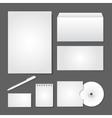 Office supply set design vector