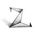 Z letter 2 vector