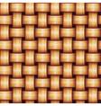 Seamless wicker texture vector