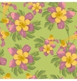 Elegance seamless flowers background vector