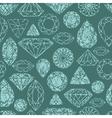 Seamless diamond pattern grunge vector
