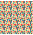 Seamless pattern based on geometric shapes vector