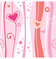 Pink abstract romantic background vector