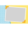 Blank background for greetings card vector