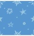 Hand drawn stars vector