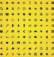 100 webdesign icons vector