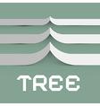Paper tree symbol vector