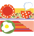 Breakfast graphic vector