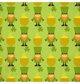 St patricks day seamless background vector