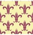 Fleur de lys seamless pattern vector