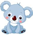 Cartoon koala bear vector