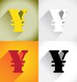 Yen currency symbol vector