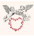 Angel or cupid llustration vector