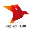 Abstract bird vector