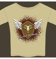 Rocker tee shirt vector