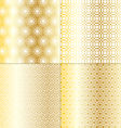 Gold geometrics vector