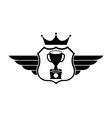 Trophy design vector