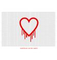 Heartbleed openssl bug shape bleeding hear vector