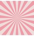 Retro pink rays vector