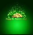 Stpatricks day background vector