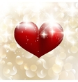 Beautiful valentine background with hearts eps 10 vector