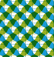 Geometric mosaic seamless pattern background vector