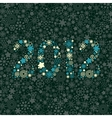New year 2012 number vector