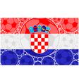 Croatia soccer balls vector