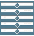 Trendy white design template vector